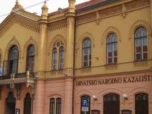 Croatian National Theatre in Osijek