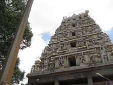 Bull Temple Shrine 'Shikhara' - Bangalore