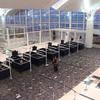 Immigration Desk At Departure Hall