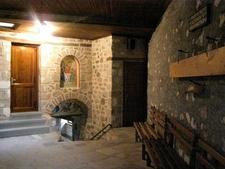 Inside Holy Trinity Monastery - Meteora