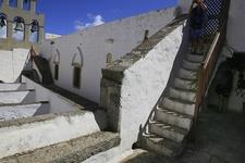 Inside Monastery Of St. John - Aegean Greece