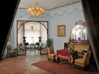 Inside Riga Art Nouveau Museum