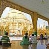 Inside Shwedagon Pagoda Yangon