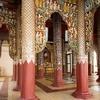 Inside Swezigon Pagoda At Bagan