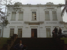 Front View Of Instituto Butantan