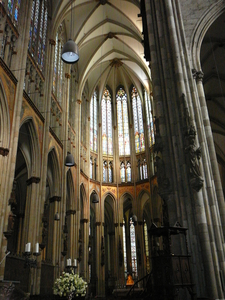 Interior Of The Medieval East End