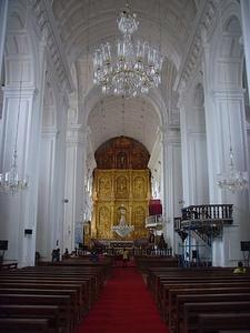 Interior Towards Reredos