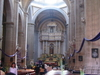 Interior Church Chalco Mexico