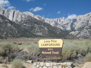 Inyo Lone Pine Campground