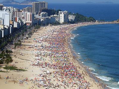Ipaneman Beach  Rio De  Janeirossa