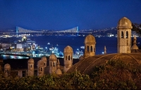 Istanbul Night Overview