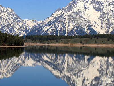 Jackson Lake - Grand Tetons - Wyoming - USA