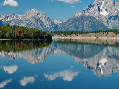 Jackson Lake View - Grand Tetons - Wyoming - USA
