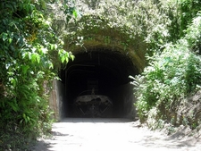 Japanese Barge Tunnel - Solomon Islands - Papua New Guinea