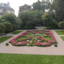 Garden Of The Petit Luxembourg Palace