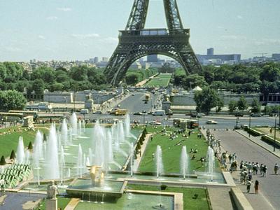 Jardins du trocad ro paris france tourist information for Jardin trocadero