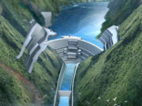 Jinping 1 Hydropower Station
