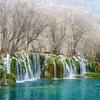 Jiuzhaigou Wateralls In Sichuan