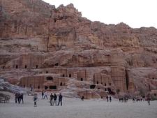 Jordania Petra Miasto Wykute W Skalach