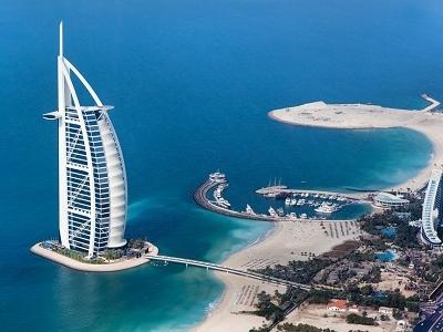 Jumeirah Beach & Burj Al Arab