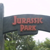 Jurassic Park Entrance Arch At The Islands Of Adventure