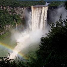 Kaieteur Falls In Rainy Season