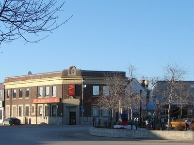 Town Centre Of Kapuskasing.