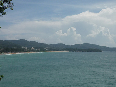 View Of Karon Beach