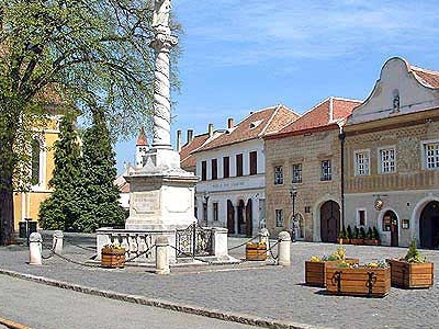 Marian Columns In Koszeg