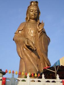 Ke Lok Si Kuan Yin Statue Daytime