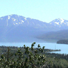 The Kenai Mountains And River