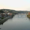 Kennebec River Flowing Through Downtown Augusta