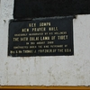 Key Gompa Prayer Hall Info Plaque