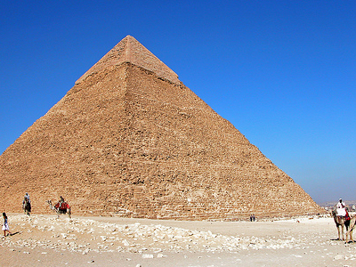 Khafre Pyramid At Giza