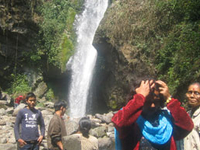 Khangchendzonga Waterfalls