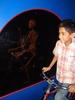 Kid Bicyclist Skeleton