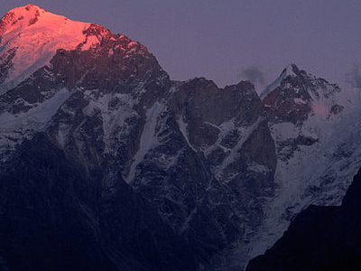 Kinner Kailash Mountain