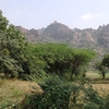 Kondaveedu Fort From The Base Of The Hill