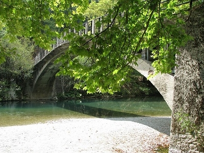 Konitsa Bridge On Way To Papigo