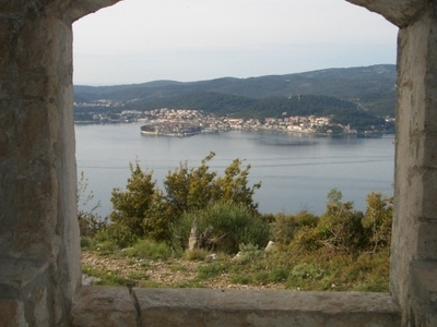 Korcula From  Peljesac