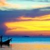 Ko Samui Sunset With Fishing Boat