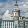 View Of The Kunstkammer Across The Neva