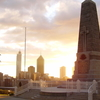 Kings Park War Memorial Sunrise