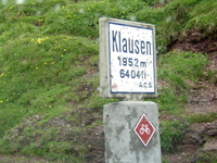 Klausen Pass