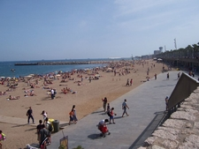 La Barceloneta Beach Long View