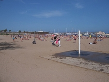 La Barceloneta Beach Shower