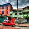 La Candelaria - Downtown Bogota Street Scene - Colombia