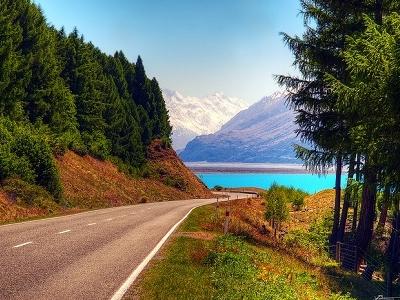 Lake Pukaki & Mt Cook - Southland - New Zealand