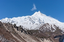 Landscape Along Manaslu Circuit Trek - Nepal Himalayas