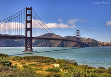 Landscape Around SF Golden Gate Bridge